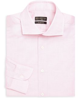 Cotton & Linen Regular-fit Dress Shirt