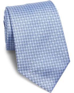 Tonal Micro Neat Silk Tie
