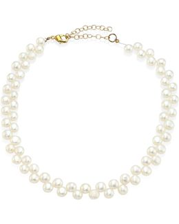 5mm Freshwater Pearl Checkered Choker