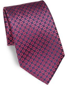 Small Star Silk Tie