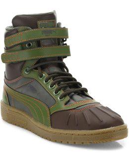 Sky Ii Hi Duck Leather Boots
