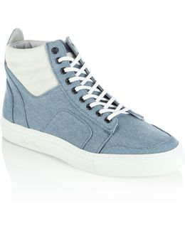 Two-tone Boxing Sneakers
