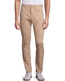 Campbell Tapered Twill Trousers