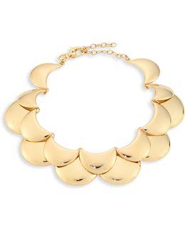 Golden Cove Bib Necklace