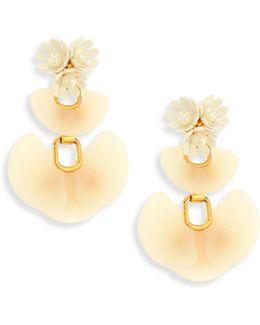 Island Shell Drop Earrings
