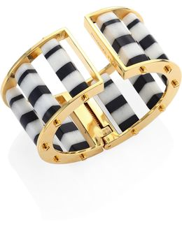 Striped Column Slider Bracelet