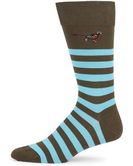 Macrath Striped Socks