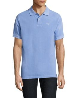 Washed Cotton Polo