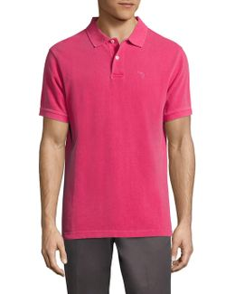 Washed Sports Pique Polo