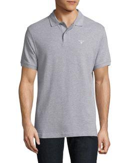 Short Sleeve Cotton Polo