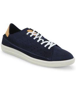 Dyneckt Naptik Perforated Suede Sneakers
