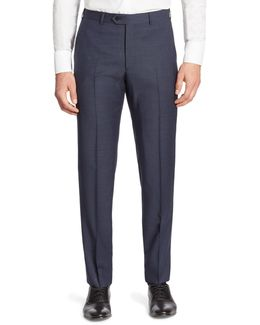 Slim-fit Virgin Wool Suit Pants