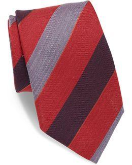 Multi-tone Striped Tie