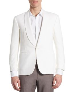 Anthony Regular-fit Wool Barathea Tuxedo Jacket
