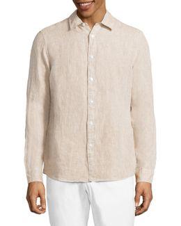 Regular Linen Shirt