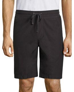 Woven Cotton Shorts