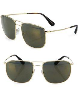 60mm Pillow Sunglasses