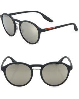 53mm Signature Logo Phantos Sunglasses