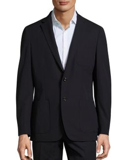 Slim-fit Trop Wool Blazer