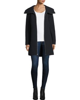 Gwena Quilted Hooded Walker Coat