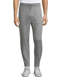 Pima Cotton Heathered Jogger Pants