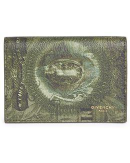 Abstract Dollar Printed Wallet