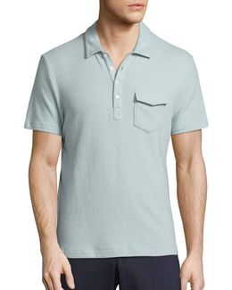 Terry Flap Pocket Polo