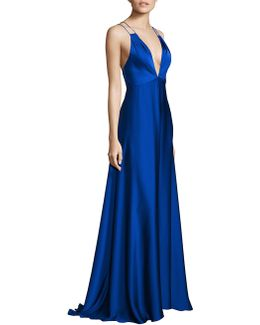 Double Strap Gown