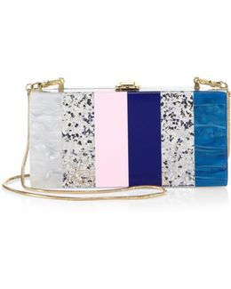 Marble Box Convertible Clutch