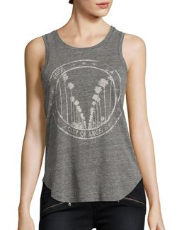 Georgina Graphic Tank Top