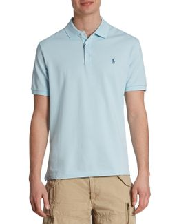 Stretch-mesh Polo