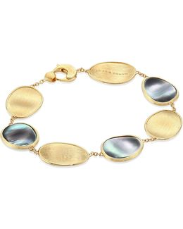 Lunaria Black Mother-of-pearl & 18k Yellow Gold Bracelet