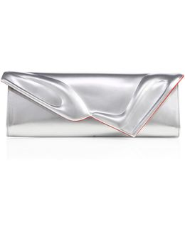 So Kate Leather Clutch