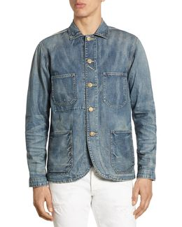 Regular-fit Denim Chore Blazer