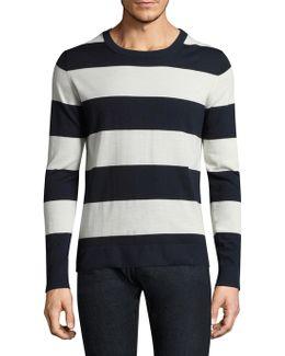 Austin Block Wool Sweater