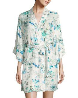 Delilah Floral Printed Kimono
