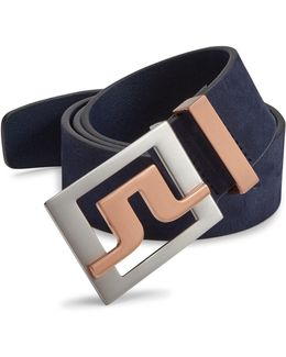 Slater Brushed Leather Belt