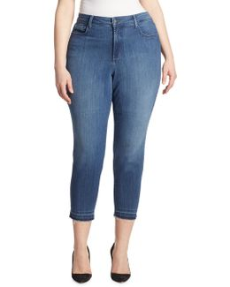 Nichelle Frayed Ankle Skinny Jeans