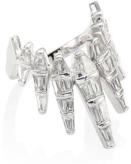 Spectrum Diamond & 18k White Gold Ring