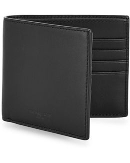 Leather-blend Wallet