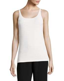 System Silk Jersey Camisole