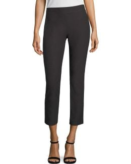 Cropped Slim Ankle Pants
