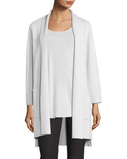 Silk & Organic Cotton Kimono Cardigan