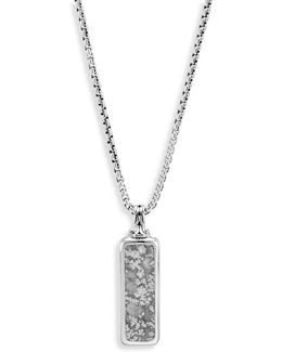 Classic Silver Pendant Necklace
