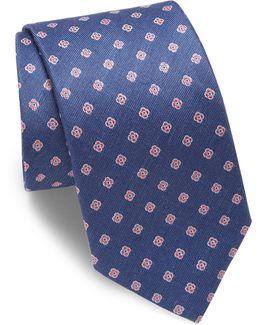 Floral Patterned Tie