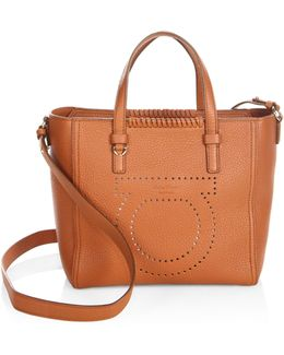 Gancio Mood Small Marta Leather Tote