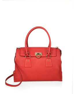 Leather Lotty Tote