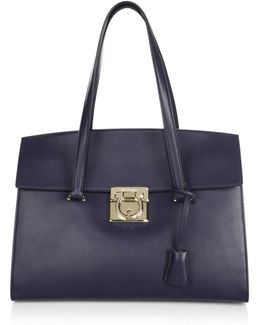 Lock Story Mara Leather Medium Tote