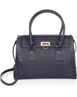 Mediterraneo Vitello Lotty Leather Tote