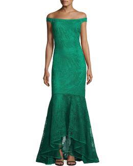 Crochet Lace Gown